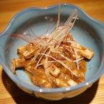 SHIN ~野菜巻き串の巻~ - イカの肝焼き、コレ美味し