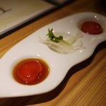 SHIN ~野菜巻き串の巻~ - ねっとりとした食感の卵