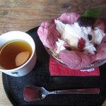 ここはな - 恋パフェとコーン茶