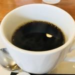 洋食屋 グリル ラパン - セットのコーヒー