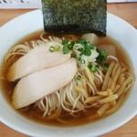麺屋十郎兵衛 - 「冷し煮干中華蕎麦」(2018年6月12日)