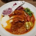太陽のトマト麺 - 柔らかよだれ鶏のシビカラベジトマ冷麺(期間限定)