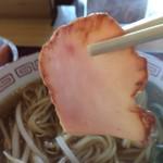 奈良秋篠食堂 - ペラ焼豚