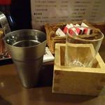 婆娑羅 - 月替わりの純米酒700円