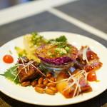 施家菜 - 前菜(焼豚盛り合わせ・鶏・海月)