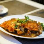 施家菜 - 渡り蟹 豆鼓炒め