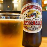 丸八寿司 - キリン ラガービール