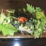 焼肉 獅子蔵 - 豆腐サラダ  550円