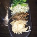 焼肉 獅子蔵 - ナムル  550円