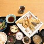 尾道和食レストラン ゆう家 - 天ぷら御膳