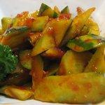 中華料理 大衆 福州居酒屋 - 大衆辛子キュウリ