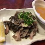 焼肉ひげ - 生センマイᕦ(ò_、óˇ)ᕤ¥750円˚✧₊⁎⁺˳✧༚