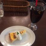 ベルジアンブラッスリーコート バレル - デザート+アイスコーヒー