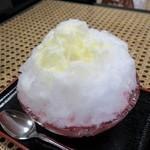 初音茶屋 - ・「氷イチゴミルク(\450)」
