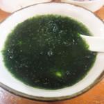 宝山 いわし料理 大松 - 青海苔豆腐