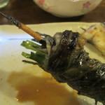 味治 - ヒレ焼の芯は韮
