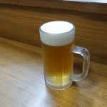 あたご - 生ビール。