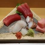 一丁田 - 料理写真:生インドマグロ