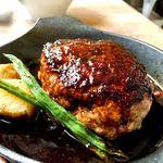 鉄板食堂BARREL - 料理写真:ランチのハンバーグ