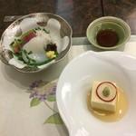 日本料理 ぎん - 冷えた刺身