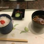日本料理 ぎん - 明太子が残念ながらチューブ物