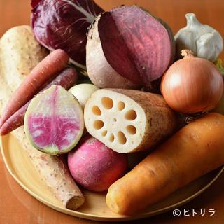産地直送が大前提。つくり手の思いが凝縮された日本各地の味覚