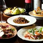 イタリア料理ゴローゾテツ - コース2900円〜!夜風を感じるテラス席で本格イタリアンとワイン