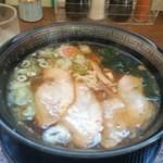 たべものや - 醤油チャーシュー麺。