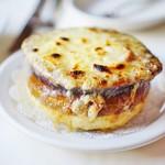 Ruth's Chris Steak House - オニオングラタンスープ