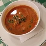 ビストロ・デ・ポン - 「ガサエビのスープ」