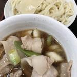 深山うどん - 料理写真:肉汁(肉増し)