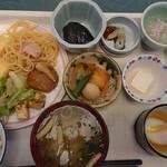 フィール宇奈月 - 料理写真:朝食バイキング