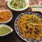 スジャータインディアンレストラン - 料理写真:マトンビリヤニ