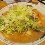 博多拉担麺 まるたん - どっかんネギトッピング 100円