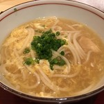 銀座 しのはら - すっぽんを炊いたお出汁で半田麺の煮麺