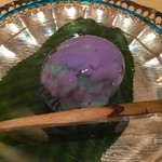 銀座 しのはら - 紫陽花のきんとん