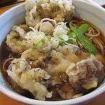 くぼ田 - 舞茸の天ぷらそば