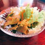サヴァサヴァ - ランチのサラダ