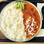 妻田カレー - 2倍盛りアボカドとトマトモッツァレラ