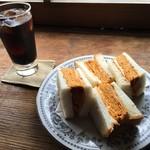 karo 馥郁焙煎工房 - 料理写真:玉子サンド&レーコー
