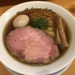 麺庵ちとせ - 料理写真:【2018.6.11】出汁醤油煮玉子¥890
