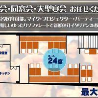 【宴会幹事必見!】2F宴会個室レイアウト
