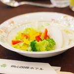 岡山国際ホテル - 料理写真:
