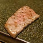 87517326 - リブ芯 山葵と醤油か塩で