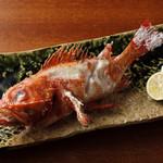 大かまど飯 寅福 - 鮮魚の備長炭炭火焼き