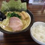 87522714 - 太麺海苔ましラフティ+無料ライス