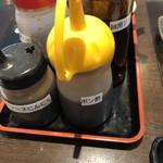 肉屋の正直な食堂 - ステーキソースはニンニクとオニオンそしてポン酢