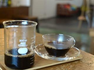 フィッツロイ - コーヒーはビーカーに