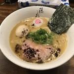 麺屋 藤しろ - ●鶏白湯 味玉ラーメン850円税込