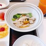 花ごよみ  - 東京野菜とキノコをしゃぶしゃぶに